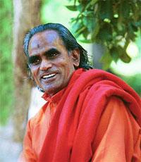 Portrait of Shri Brahmananda Sarasvati - younger days