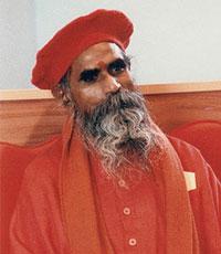 Portrait of Shri Brahmananda Sarasvati - older days