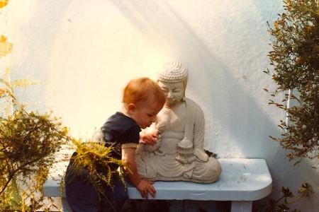 Gabe-&-Buddha-YSSF-Garden-2