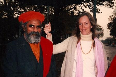 Guruji-Radha-umbrella