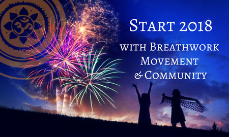 New Year's Eve Celebration with Breathwork, Movement and Community @ Yoga Society of San Francisco | San Francisco | California | United States